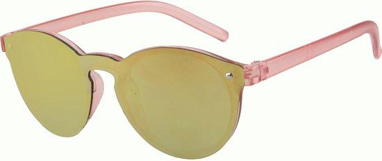 01619787fc7ecf Zonnebril voor Kinderen - Kids Sunglasses - UV 400 bescherming - Glazen  50mm - Roze montuur