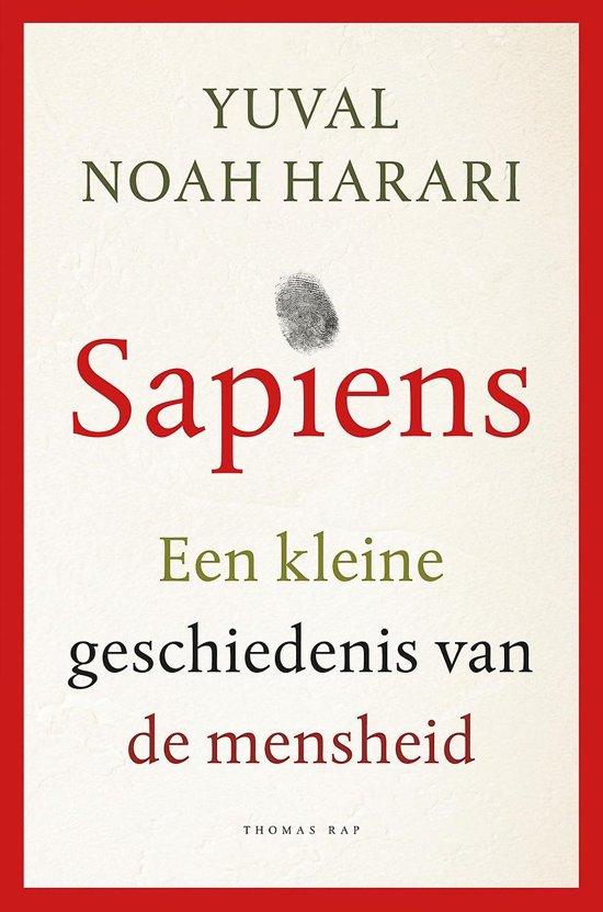 Boek cover Sapiens van Yuval Noah Harari (Hardcover)