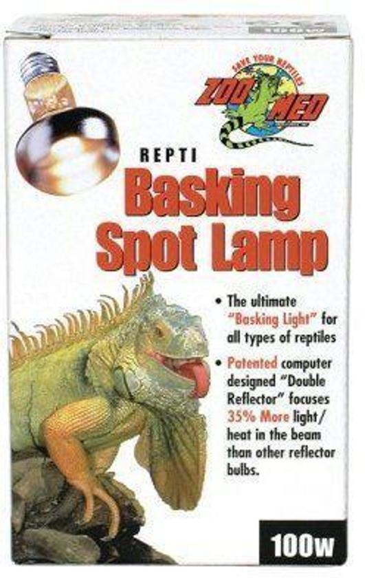 ZM Repti Basking Spot Lamp - 100 w.