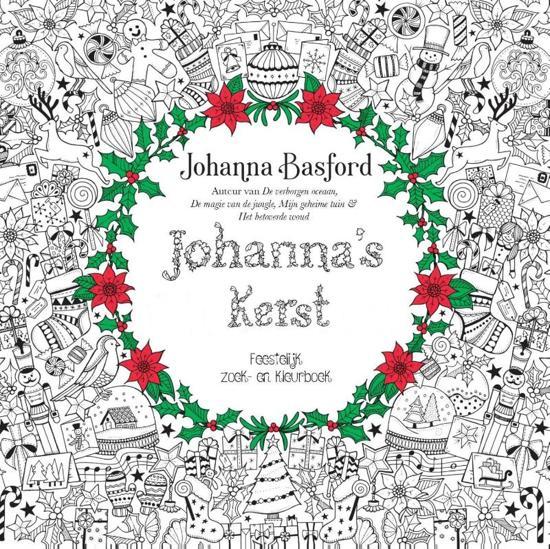 Kleurplaten Voor Volwassenen Mijn Geheime Tuin.Bol Com Johanna S Kerst Johanna Basford 9789043919203 Boeken