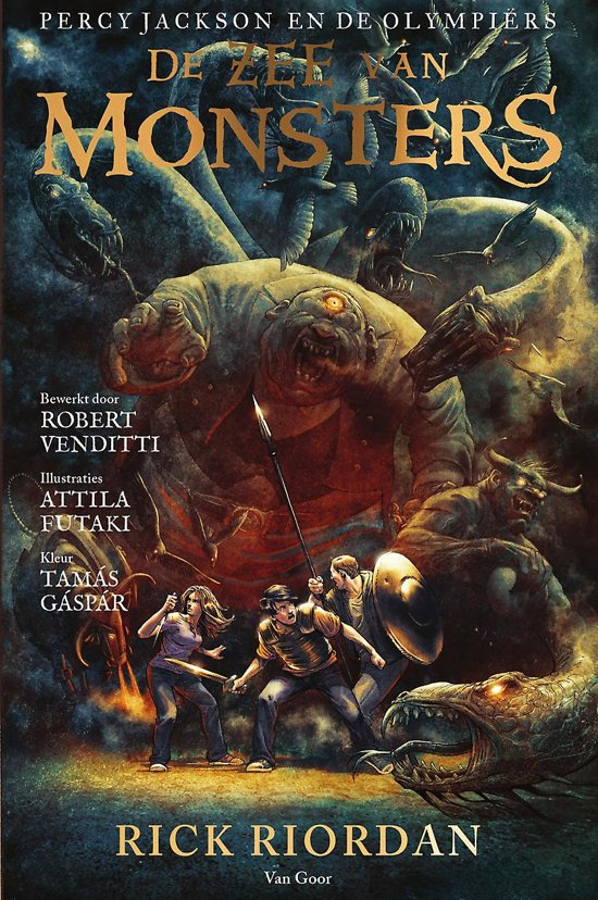 De zee van monsters: de graphic novel