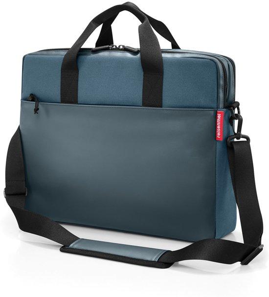 00bfff302b7 Reisenthel Workbag Schoudertas - Werktas - Canvas - 13 L - Canvas Blue Blauw