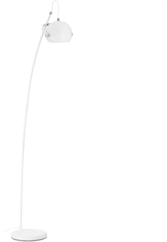bol.com | relaxdays Staande lamp metaal - vloerlamp - woonkamer lamp ...