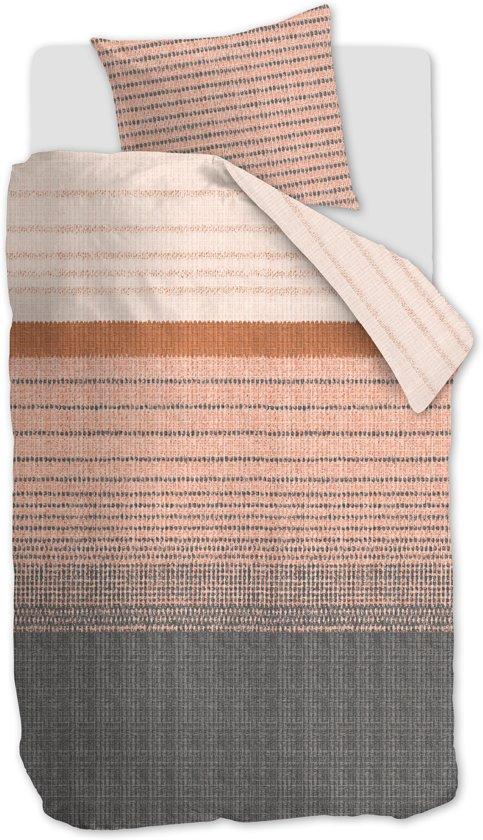 Beddinghouse Java - Dekbedovertrek - Eenpersoons - 140x200/220 cm - Terra