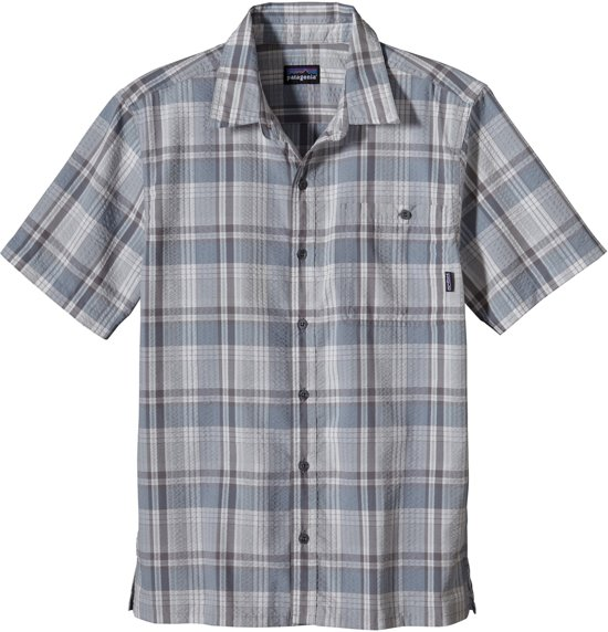 geruite blouse korte mouw