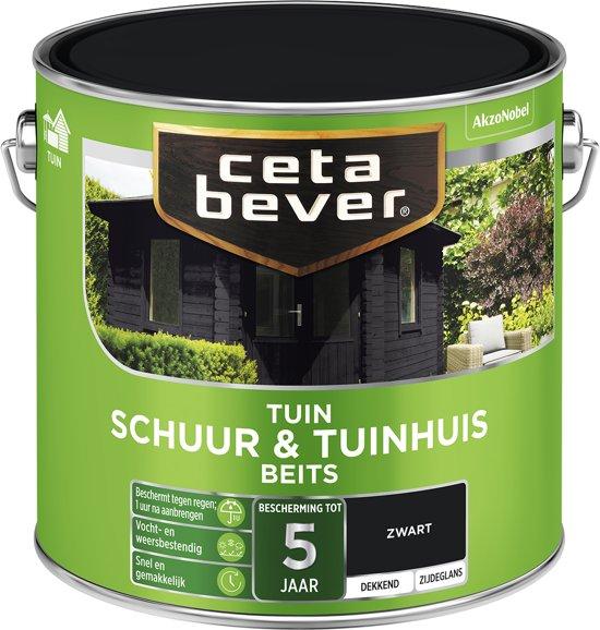 Zeer bol.com | Cetabever Tuin Schuur & Tuinhuis Beits - Dekkend - Zwart EJ79