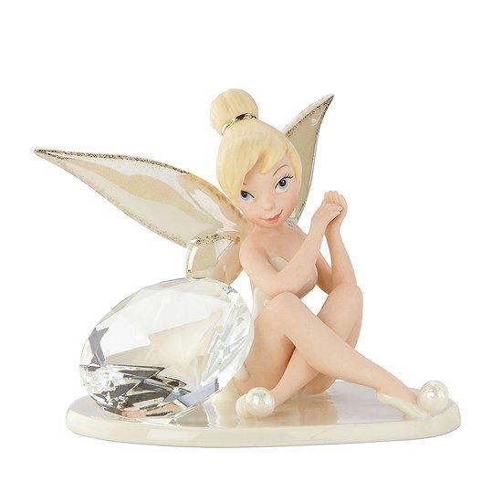 Disney by lenox tink glittery gift april