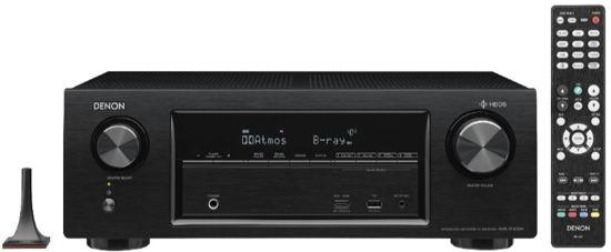 Denon AVR-X1400H - 7-kanaals full 4k Ultra HD AV-netwerkreceiver