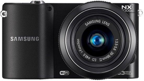 Samsung NX1000 + 20-50mm  - Systeemcamera - Zwart