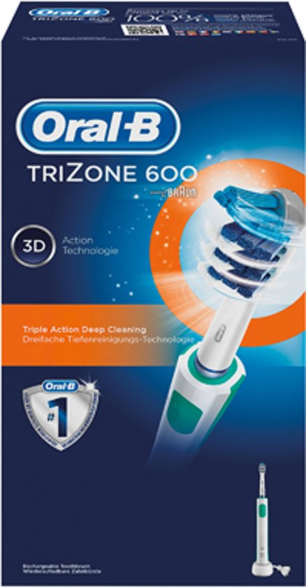 Brosses � dents �lectriques ORAL B TRIZONE 600 BLEU