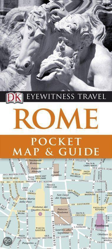 Dk Eyewitness Pocket Map & Guides: Rome (2010)