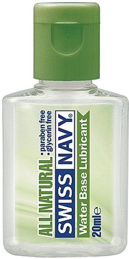 Swiss Navy All Natural Glijmiddel - 20ML