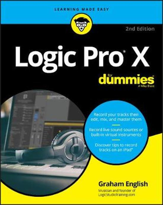 Boek cover Logic Pro X For Dummies van Graham English (Paperback)