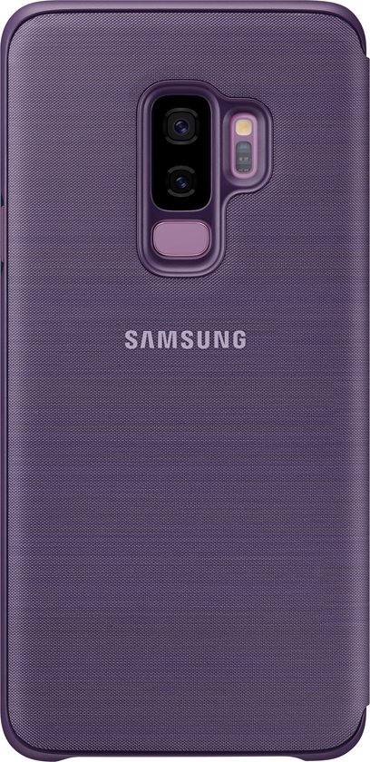 Samsung LED view cover - violet - voor Samsung Galaxy S9 Plus