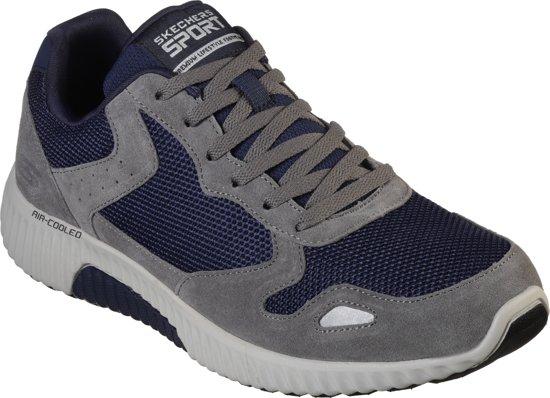 Navy 41 Heren Paxmen Skechers Charcoal Maat Sneakers 0IwZU