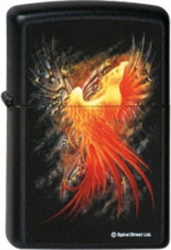 Zippo aansteker Spiral Phoenix Rising