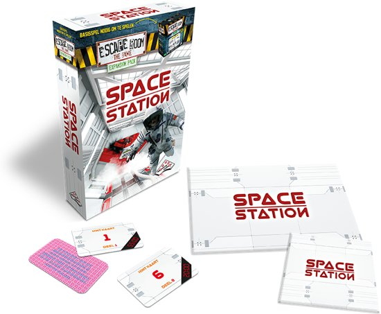 Uitbreidingsset Escape Room The Game: Space Station