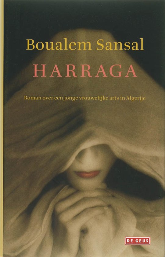 Cover van het boek 'Harraga' van B. Sansal
