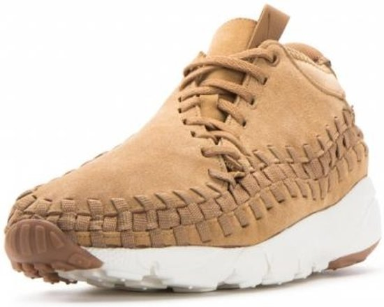 Air Mt Sneakers Footscape Heren Chukka Woven Nike 5 Beige 45 1Rqgw55A