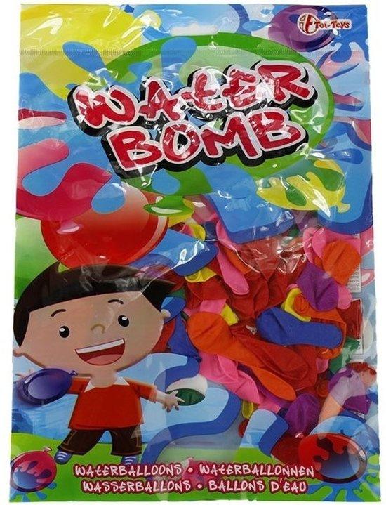 200x Gekleurde waterballonnen - Buitenspeelgoed - Waterbommen - Watergevecht