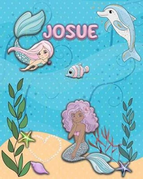 Handwriting Practice 120 Page Mermaid Pals Book Josue