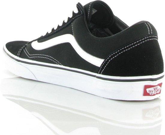 5 Sneakers Maat Vans Unisex Old Zwart 44 Skool wit Px7q8wO1