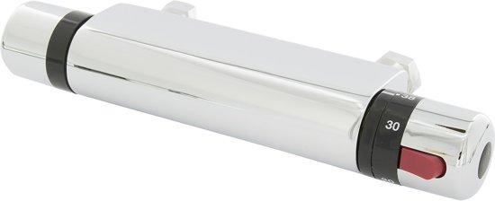 Plieger Comfort Thermostatische Douchekraan - 12 cm hartafstand - Chroom