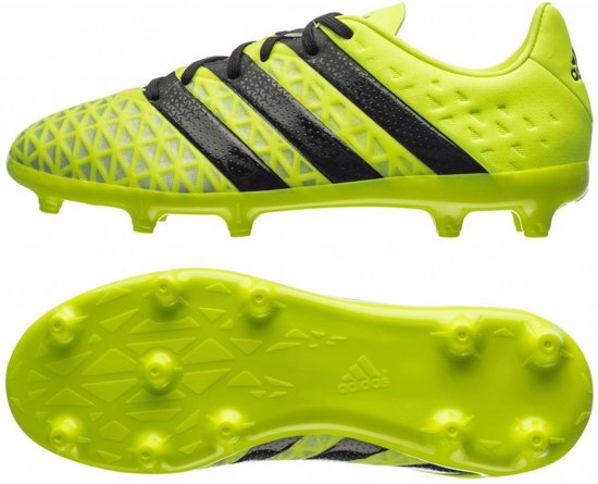 Adidas - Ace 16,1 Fg Jr Football - Unisexe - Chaussures - Jaune - 38 2/3