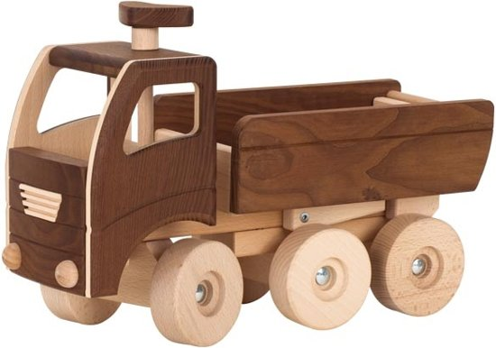 Goki Houten kiepwagen 40 x 14,5 x 24 cm