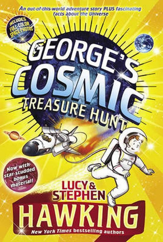 Boek cover Georges Cosmic Treasure Hunt van Lucy Hawking (Paperback)