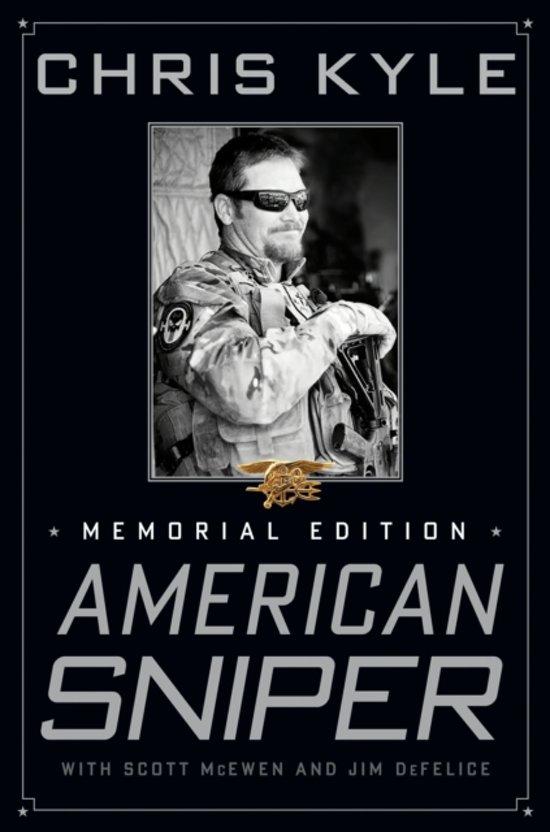 Boek cover American Sniper van chris Kyle (Hardcover)