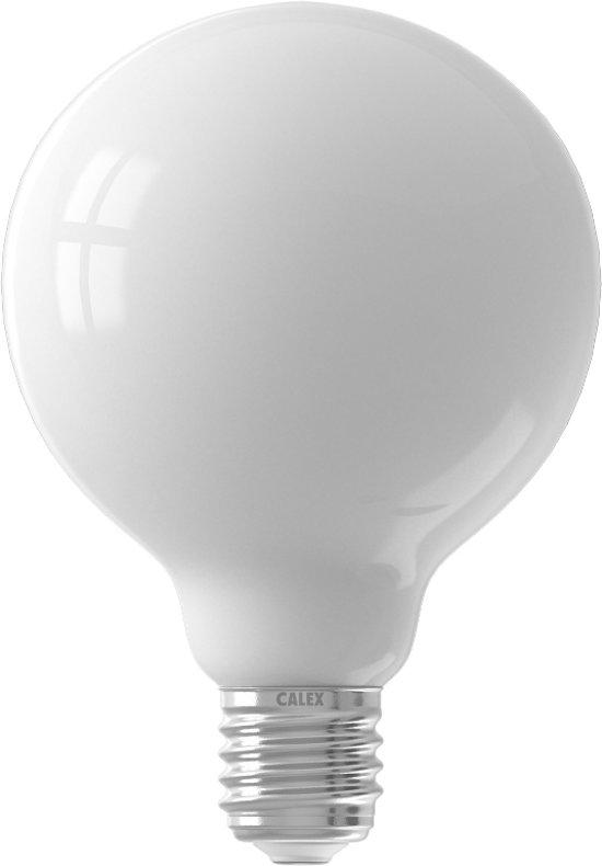 Calex globelamp LED filament mat 8W (vervangt 90W) grote fitting E27 95mm