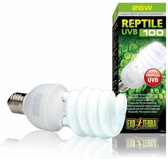 Exo Terra Terrarium verlichting Reptile UVB 13 watt - Wit - 13w