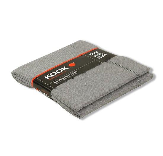 KOOK Tafelkleed - 230x140 cm - Grijs