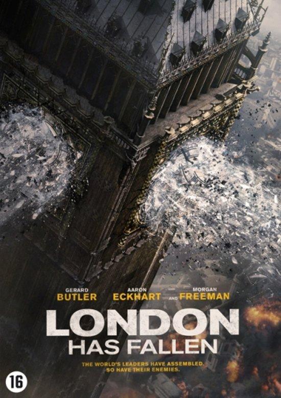 DVD cover van London Has Fallen