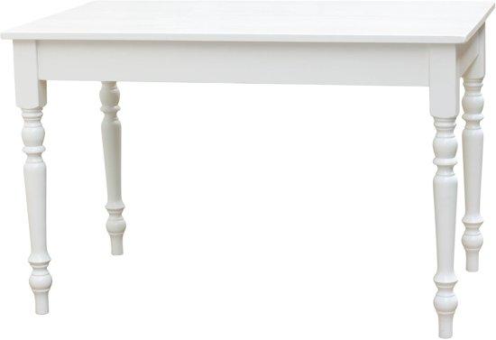 Klein Tafeltje Wit.Franse Tafel Klein Wit