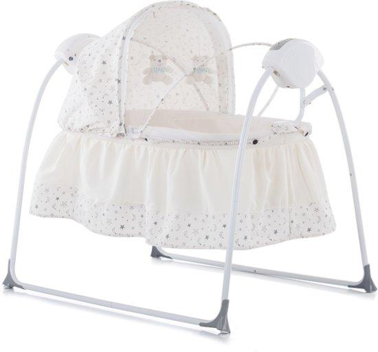Baby Schommelstoel Automatisch.Elektrische Babyschommel Chipolino Rock A Bye Ivoor De 2 In 1 Schommelstoel