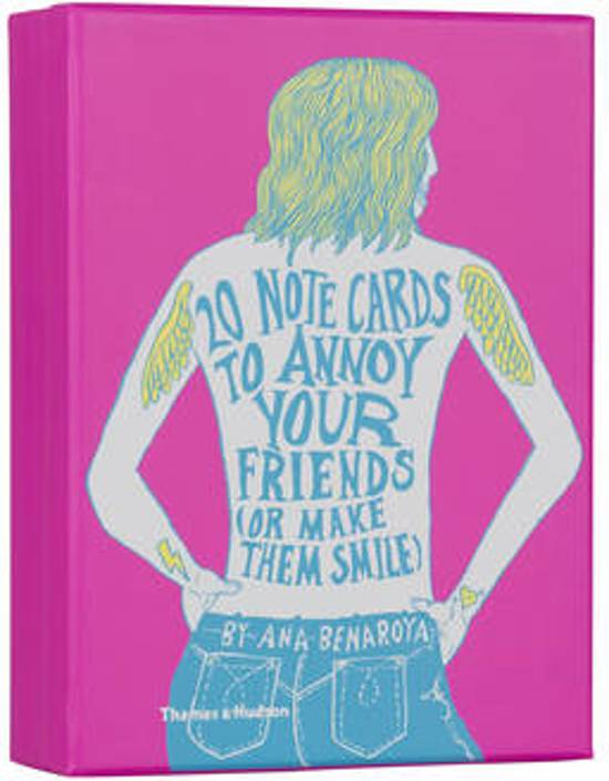 Afbeelding van het spel 20 Notecards to Annoy Your Friends (or Make Them Smile)