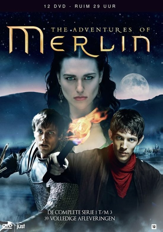 Adventures Of Merlin - Seizoen 1 t/m 3 Box