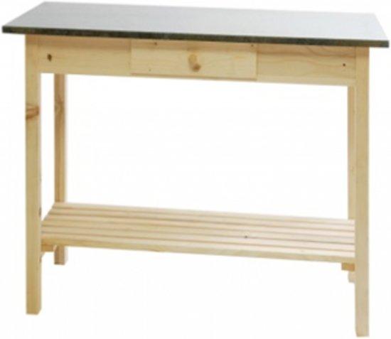 Side Table Blank Hout.Bol Com Sidetable Bloomfield Vuren Blank 78 X 120 X 40 Cm