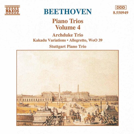 Beethoven: Piano Trios Vol 4 / Stuttgart Piano Trio