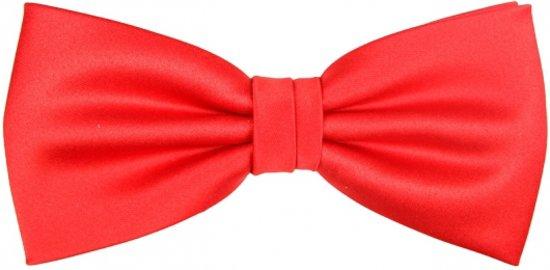 Luxe strikje rood