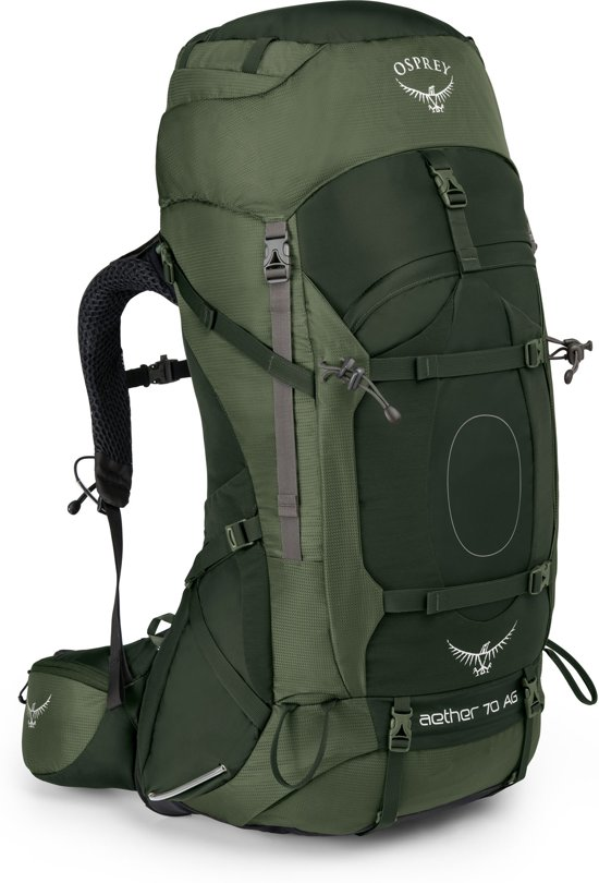 a7665344541 Osprey Aether AG 70l backpack heren - Adirondack Green - Medium
