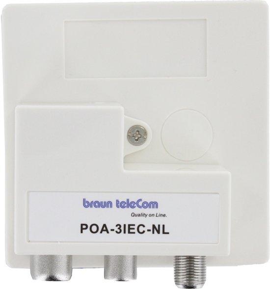 Beroemd bol.com | Ziggo goedgekeurde Radio-TV-Modem verdeler (POA 3 IEC-NL) NX92