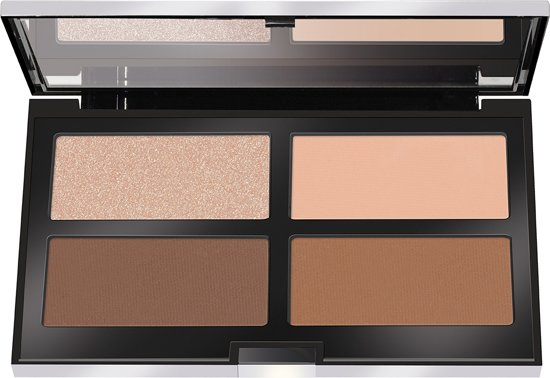 Pupa Contouring & Strobing Powder Palette 003 Medium Dark Skin