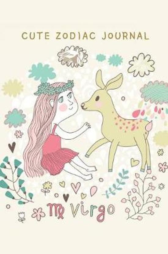 Cute Zodiac Journal: Virgo Theme Cover