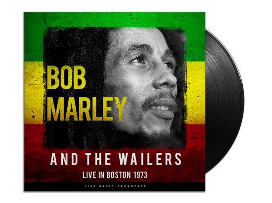 CD cover van Best Of Live In Boston 1973 van Bob Marley & The Wailers