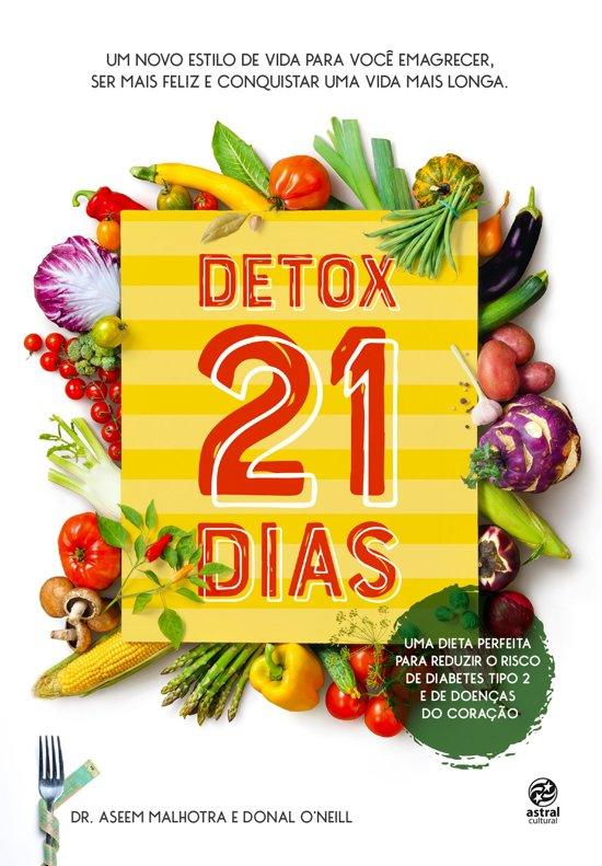 Boek cover Detox 21 dias van Aseem Malhotra (Onbekend)