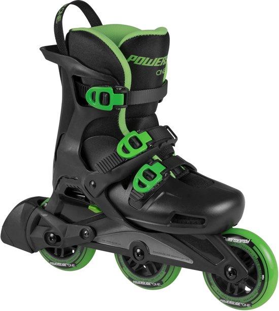 b51e7b5584a Powerslide Wave Inline Skate Junior Inlineskates - Maat 39-41 - Unisex -  zwart/