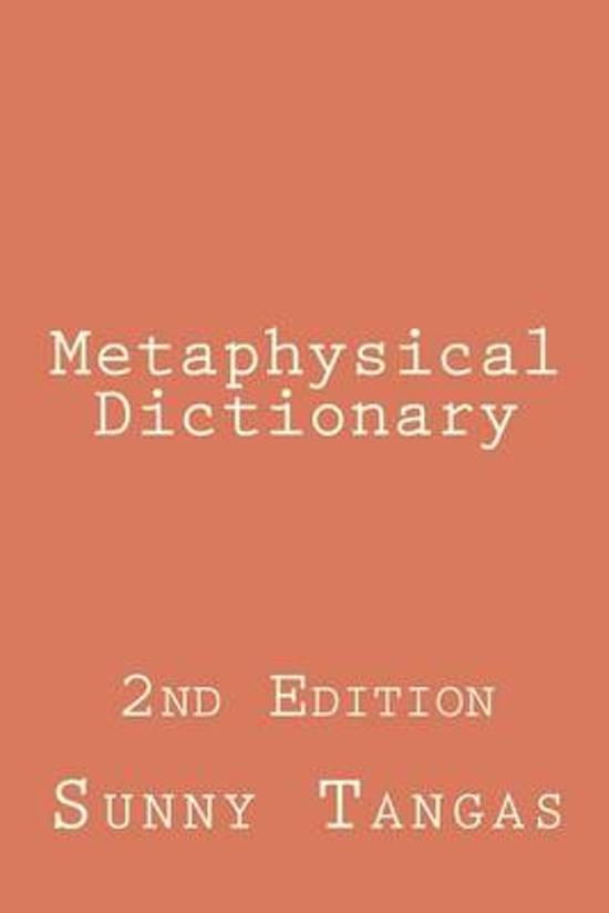 Metaphysical Dictionary